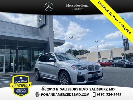 2017_BMW_X3_xDrive28i ** Pohanka Certified 10 year/ 100,000 **_ Salisbury MD