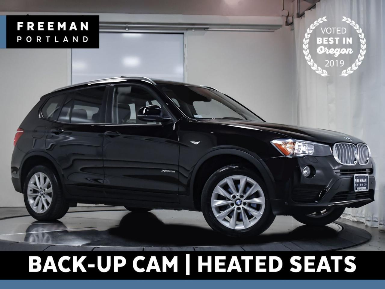 2017 BMW X3 xDrive28i Back-Up Cam Heated Seats Nav Pano Roof