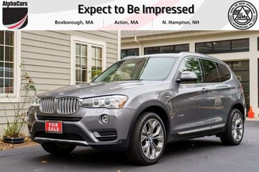 2017_BMW_X3_xDrive28i_ Boxborough MA