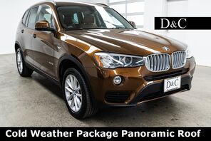 2017_BMW_X3_xDrive28i Cold Weather Package Panoramic Roof_ Portland OR