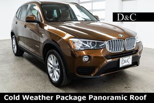 2017 BMW X3 xDrive28i Cold Weather Package Panoramic Roof