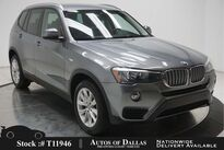 BMW X3 xDrive28i DRVR ASST,NAV,TOP CAM,HTD STS,HEADS UP 2017