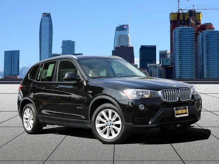2017 BMW X3 xDrive28i Los Angeles CA