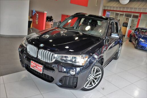 2017 BMW X3 xDrive28i M-Sport Package Premium Cold Weather Technology Driving Assistance Lighting Package Navigation Panoramic Harmon Kardon Wireless Charging Springfield NJ