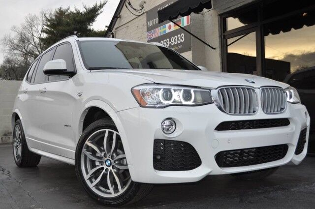 2017 BMW X3 xDrive28i/M Sport Package/Premium Package w/ Comfort Access, Panoramic Moonroof/Technology Package w/ Navigation, HUD/Driver Assistance Package w/ Rear View Camera, PDC/Lighting Package Nashville TN