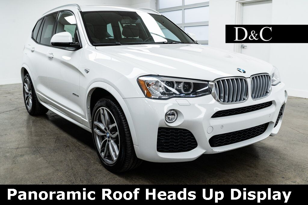 2017 BMW X3 xDrive28i M Sport Panoramic Roof Heads Up Display Portland OR