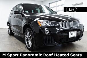 2017 BMW X3 xDrive28i M Sport Panoramic Roof Heated Seats
