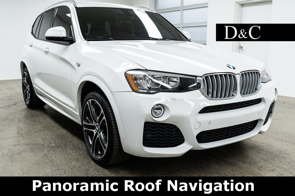2017 BMW X3 xDrive28i M Sport Panoramic Roof Navigation Portland OR