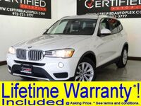BMW X3 xDrive28i NAVIGATION PANORAMA LEATHER HEATED SEATS BLUETOOTH POWER LIFTGATE 2017