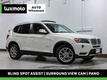 2017 BMW X3 xDrive28i Nav Pano Heated Seats Surround View Cam