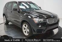 BMW X3 xDrive28i PANO,HTD STS,KEY-GO,19IN WHLS,$44K MSRP 2017