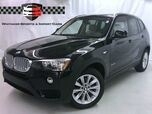 2017 BMW X3 xDrive28i Premium Tech Driver Assist Plus Pano Roof