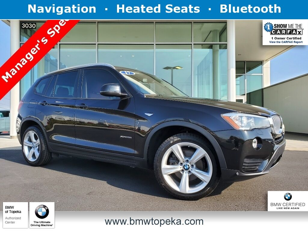 2017 BMW X3 xDrive28i Topeka KS