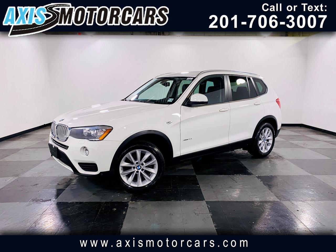 2017 BMW X3 xDrive28i w/Backup Camera Navigation Jersey City NJ