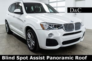 2017 BMW X3 xDrive35i Blind Spot Assist Panoramic Roof