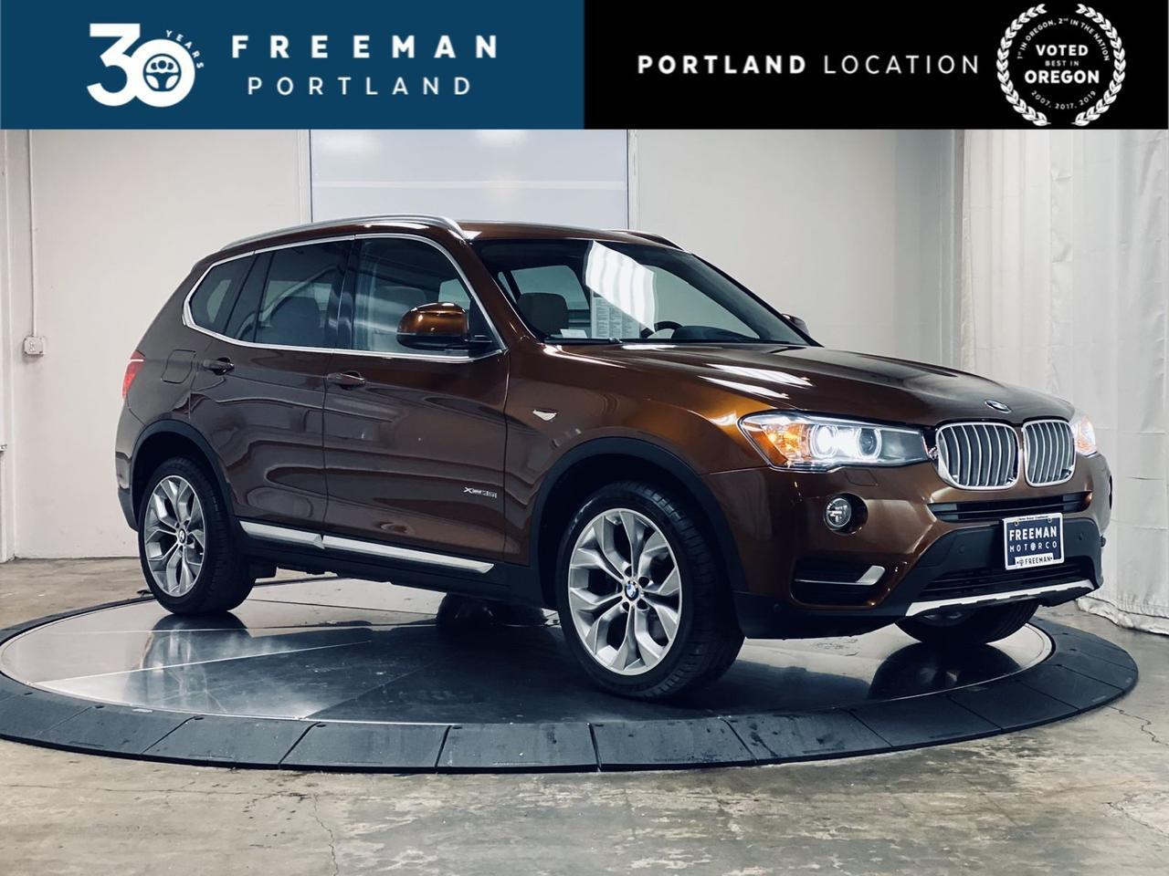 2017 BMW X3 xDrive35i Heads Up Display Parking Distance Assist Portland OR