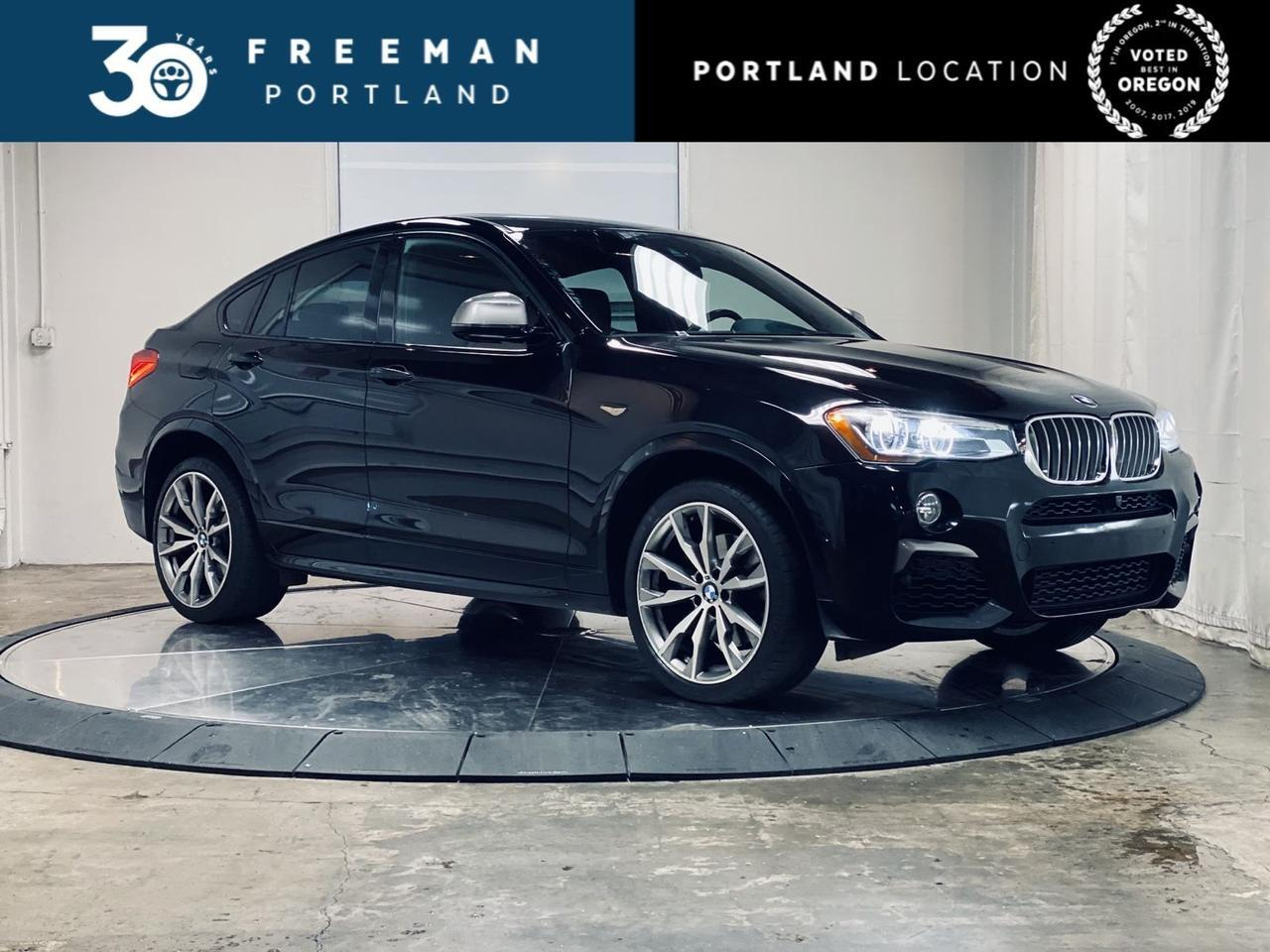 2017 BMW X4 M40i Heads Up Display Active Blind Spot Detection Portland OR