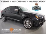 2017 BMW X4 M40i xDrive AWD *M SPORT, HEADS-UP DISPLAY, NAVIGATION, SIDE/TOP/REAR CAMERAS, MOONROOF, NEVADA LEATHER, HEATED SEATS/STEERING WHEEL, HARMAN/KARDON