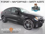 2017 BMW X4 xDrive28i AWD *M SPORT, HEADS-UP DISPLAY, BLIND SPOT ALERT, DRIVING ASSISTANT, TOP/SIDE/REAR CAMERAS, LEATHER, HEATED SEATS, MOONROOF, COMFORT ACCESS, HARMAN/KARDON