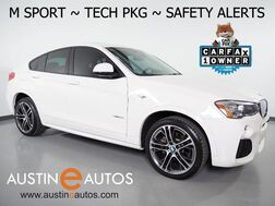 2017_BMW_X4 xDrive28i AWD_*M SPORT, HEADS-UP DISPLAY, BLIND SPOT ALERT, DRIVING ASSISTANT, TOP/SIDE/REAR CAMERAS, LEATHER, MOONROOF, COMFORT ACCESS, BLUETOOTH, APPLE CARPLAY_ Round Rock TX