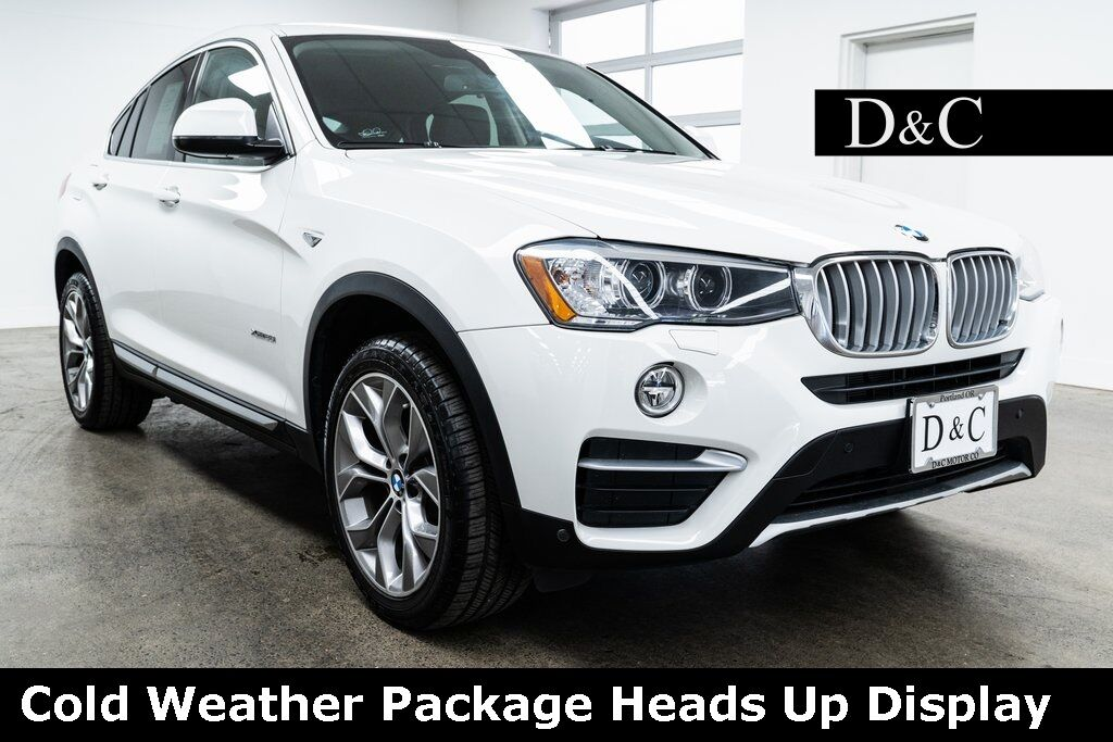 2017 BMW X4 xDrive28i Cold Weather Package Heads Up Display Portland OR