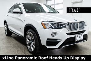 2017_BMW_X4_xDrive28i xLine Panoramic Roof Heads Up Display_ Portland OR