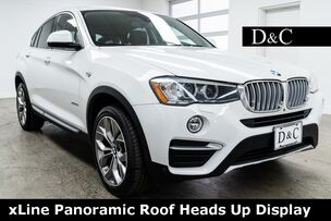 2017 BMW X4 xDrive28i xLine Panoramic Roof Heads Up Display