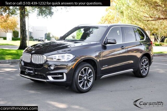 2017 BMW X5 40E Xdrive X Line w/Drivers Assistance Plus 19 Wheels MSRP $71,520 iPerformance/Cold Weather Pkg/Drivers Assistance Fremont CA