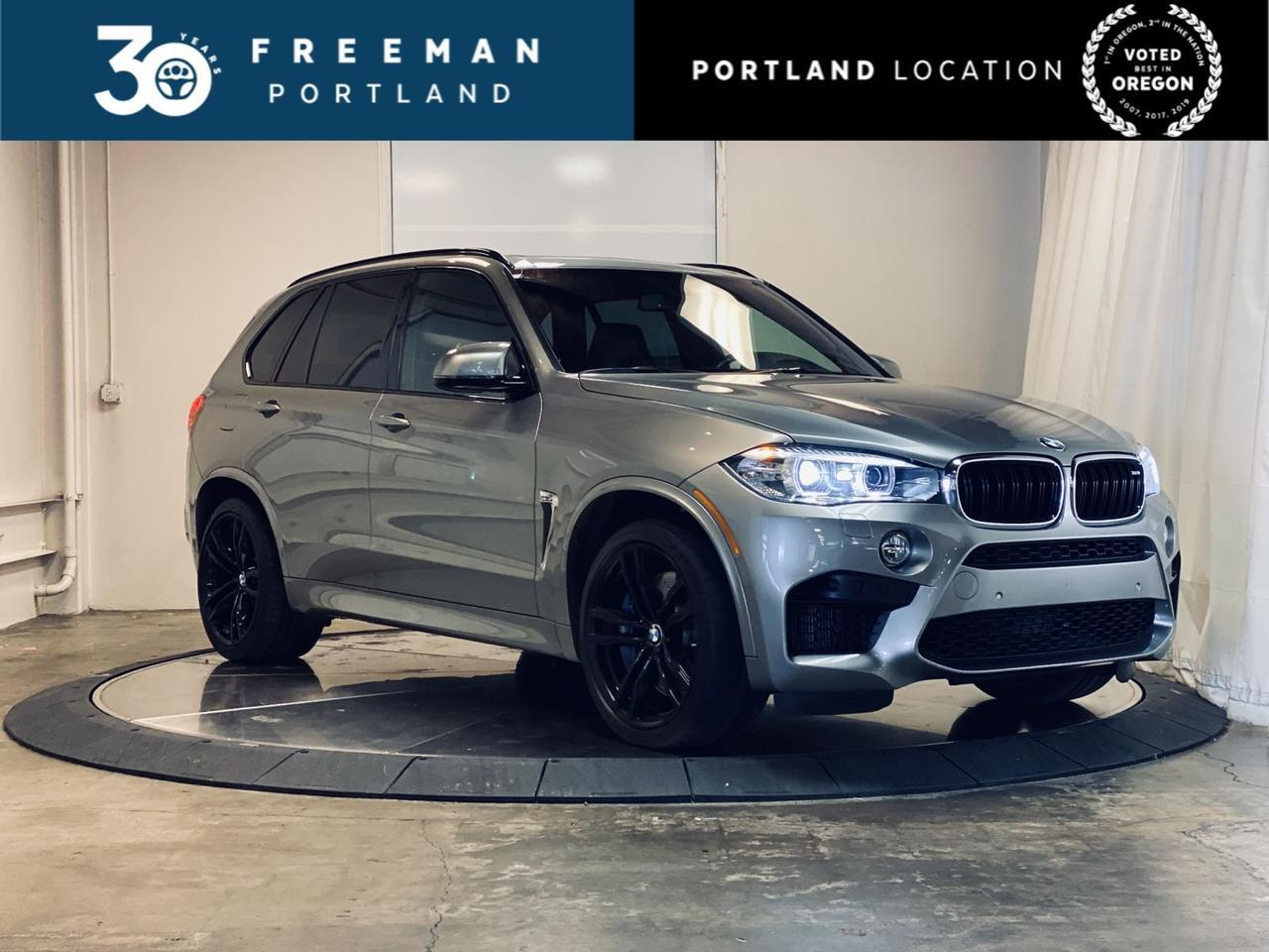 2017 BMW X5 M V8 Twin Turbo 567Hp Carbon Fiber Trim Portland OR