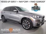 2017 BMW X5 sDrive35i *LUXURY PKG, HEADS-UP DISPLAY, NAVIGATION, BACKUP-CAMERA, PANORAMA MOONROOF, DAKOTA LEATHER, HEATED SEATS, BLUETOOTH PHONE & AUDIO