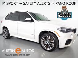 2017_BMW_X5 sDrive35i_*M SPORT, HEADS-UP DISPLAY, NAVIGATION, BLIND SPOT ALERT, DRIVING ASSISTANT, TOP/SIDE/REAR CAMERAS, HARMAN/KARDON, LIGHTING PKG, PANO ROOF, APPLE CARPLAY_ Round Rock TX
