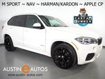 2017 BMW X5 sDrive35i *M SPORT PKG, NAVIGATION, BACKUP-CAMERA, PANORAMA MOONROOF, MULTI-CONTOUR SEATS, LEATHER, HARMAN/KARDON, BLUETOOTH, APPLE CARPLAY