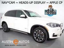 BMW X5 sDrive35i *NAVIGATION, HEADS-UP DISPLAY, BACKUP-CAMERA, PANORAMA MOONROOF, DAKOTA LEATHER, HEATED SEATS, COMFORT ACCESS, BLUETOOTH, APPLE CARPLAY 2017