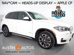 2017_BMW_X5 sDrive35i_*NAVIGATION, HEADS-UP DISPLAY, BACKUP-CAMERA, PANORAMA MOONROOF, DAKOTA LEATHER, HEATED SEATS, COMFORT ACCESS, BLUETOOTH, APPLE CARPLAY_ Round Rock TX