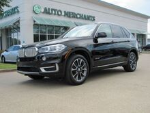 2017_BMW_X5_sDrive35i Panaromaic Sunroof Back-Up Camera, Bluetooth Connection, Navigation System_ Plano TX