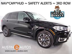 2017_BMW_X5 sDrive35i_*XLINE, HEADS-UP DISPLAY, NAVIGATION, BLIND SPOT ALERT, 3RD ROW SEATING, DRIVING ASSISTANT, PANORAMA MOONROOF, LEATHER, APPLE CARPLAY_ Round Rock TX