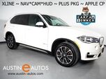 2017 BMW X5 sDrive35i *XLINE, HEADS-UP DISPLAY, NAVIGATION, BLIND SPOT ALERT, DRIVING ASSISTANT, REAR/SIDE/TOP CAMERAS, PANORAMA MOONROOF, LEATHER, APPLE CARPLAY