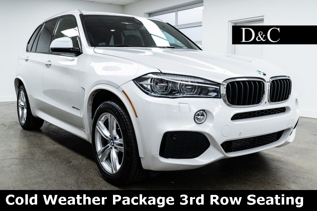2017 BMW X5 xDrive35d M Sport Cold Weather Package 3rd Row Seating Portland OR