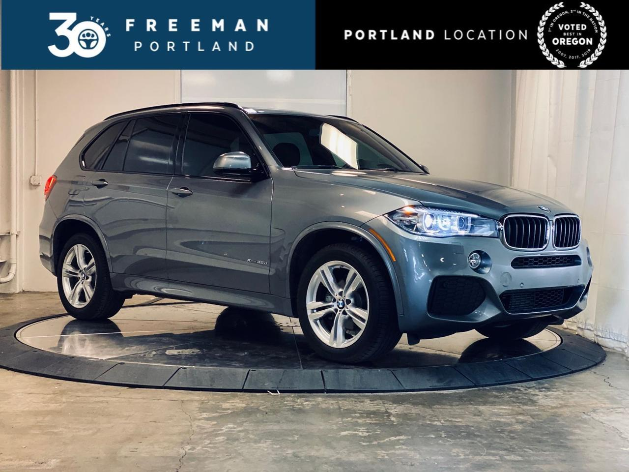 2017 BMW X5 xDrive35d M-Sport Diesel 3rd Row Seat Head-UP Display Portland OR