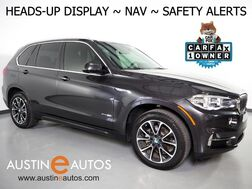 2017_BMW_X5 xDrive35i AWD_*HEADS-UP DISPLAY, BLIND SPOT ALERT, NAVIGATION, DRIVING ASSISTANT, SIDE/TOP/REAR CAMERAS, LUXURY SEATING PKG, PANORAMA MOONROOF, LEATHER, HARMAN/KARDON, BLUETOOTH_ Round Rock TX
