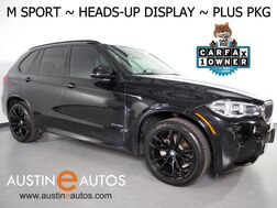 2017_BMW_X5 xDrive35i AWD_*M SPORT, HEADS-UP DISPLAY, BLIND SPOT ALERT, DRIVING ASSISTANT, TOP/SIDE/REAR CAMS, PANO MOONROOF, HARMAN/KARDON, LUX SEATING PKG, LEATHER DASHBOARD, APPLE CARPLAY_ Round Rock TX