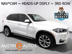 2017_BMW_X5 xDrive35i AWD_*XLINE, HEADS-UP DISPLAY, 3RD ROW SEATING, NAVIGATION, BACKUP-CAM, PANORAMA MOONROOF LEATHER, HEATED SEATS, COMFORT ACCESS, BLUETOOTH_ Round Rock TX