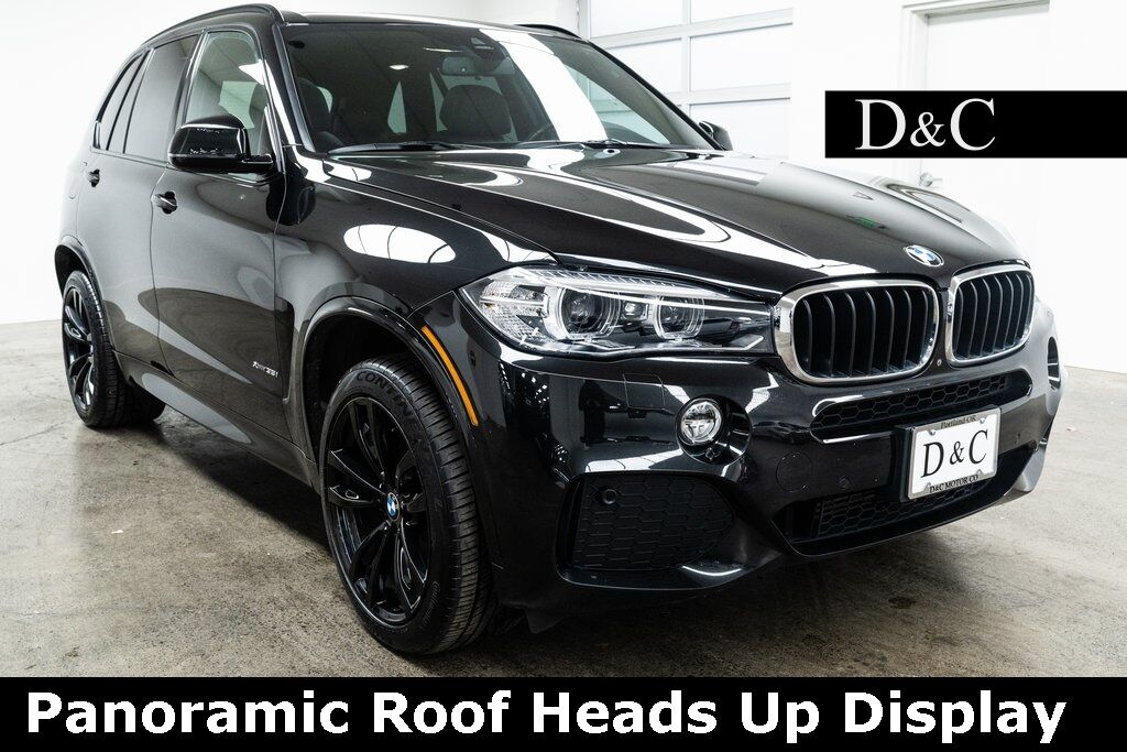 2017 BMW X5 xDrive35i M Sport Panoramic Roof Heads Up Display Portland OR