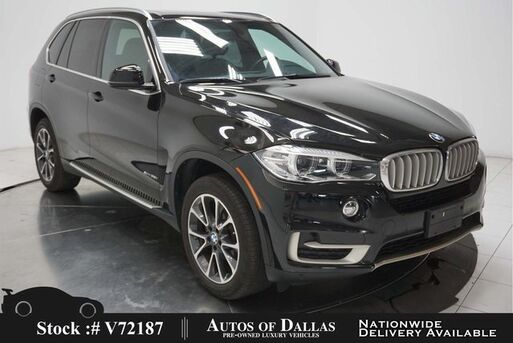 2017_BMW_X5_xDrive35i NAV,CAM,PANO,HTD STS,PARK ASST,19IN WLS_ Plano TX