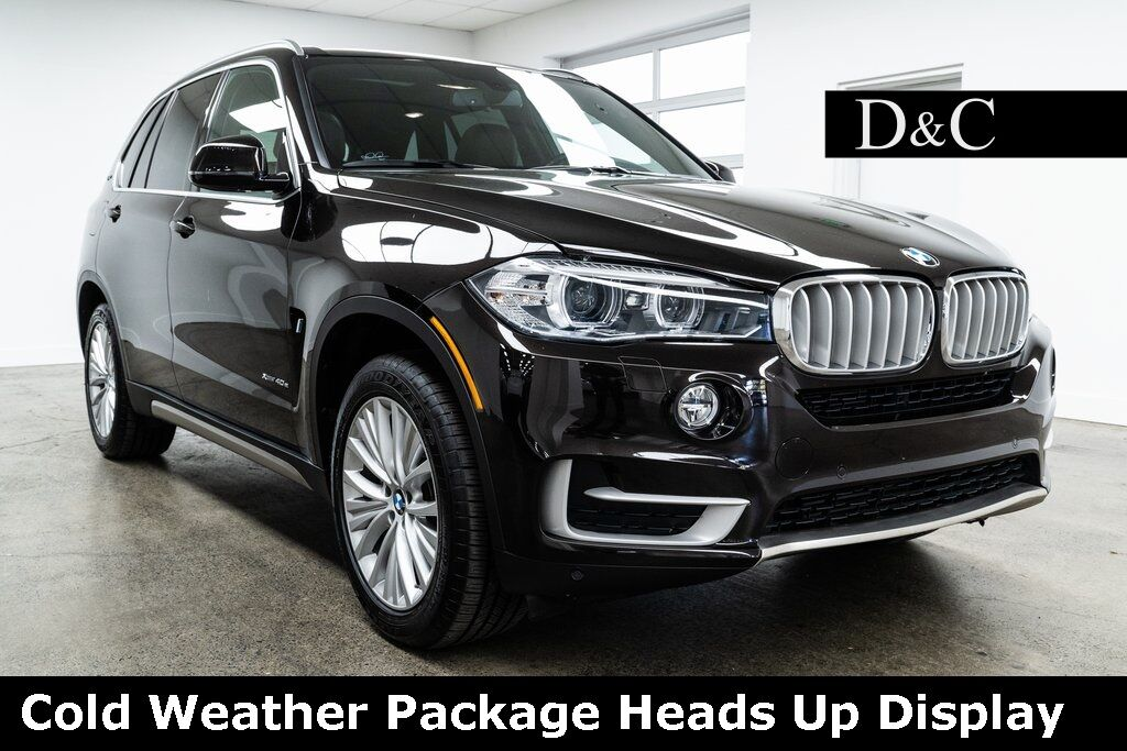 2017 BMW X5 xDrive40e Cold Weather Package Heads Up Display Portland OR