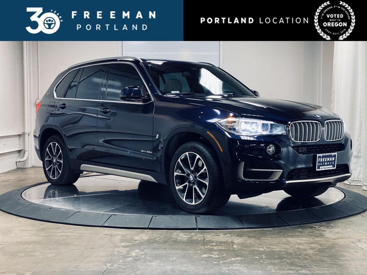 2017 BMW X5 xDrive40e iPerformance Heated Steering Wheel Active Blind Spot Portland OR