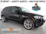 2017 BMW X5 xDrive40e iPerformance M SPORT, HEADS-UP DISPLAY, BLIND SPOT & LANE DEPARTURE ALERT, DRIVING ASSISTANT, NAVIGATION, SIDE/TOP/REAR CAMERAS, PANORAMA MOONROOF, HARMAN/KARDON, APPLE CARPLAY