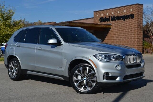 2017 BMW X5 xDrive50i/$84,045 MSRP/New Tires/445 HP/Dual Rear DVD/AWD/Exec Pkg/Drivers Assist Plus Pkg/Lux Pkg/Blind Spot Monitor/360 Cams/Soft-Close Doors/Head Up Disp/WiFi/20'' Big Sport Wheels/Multi-Contour Htd&Cooled Seats Nashville TN