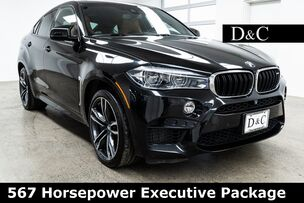 2017 BMW X6 M 567 Horsepower Executive Package