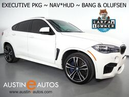 2017_BMW_X6 M_*EXECUTIVE PKG, DRIVER ASSISTANCE PLUS, BANG & OLUFSEN, HEADS-UP DISPLAY, DRIVING ASSISTANT, BLIND SPOT ALERT, NAVIGATION, MERINO LEATHER, APPLE CARPLAY_ Round Rock TX